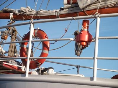 Rettungsmittel an Bord